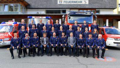 ©Hans Jost | Kommandanten und Stellvertreter der Freiwilligen Feuerwehren in der Stadtgemeinde Hermagor-Pressegger See